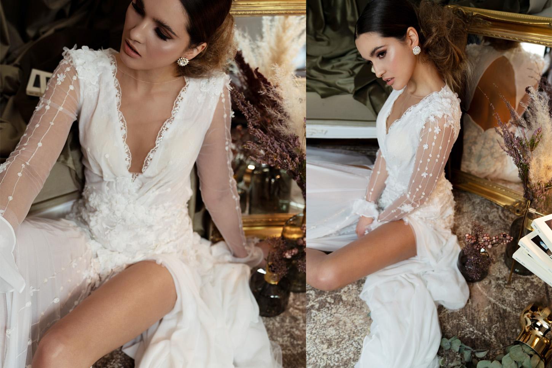 Traumhafte Brautmode und Hochzeitskleider. Duisburg,Paris